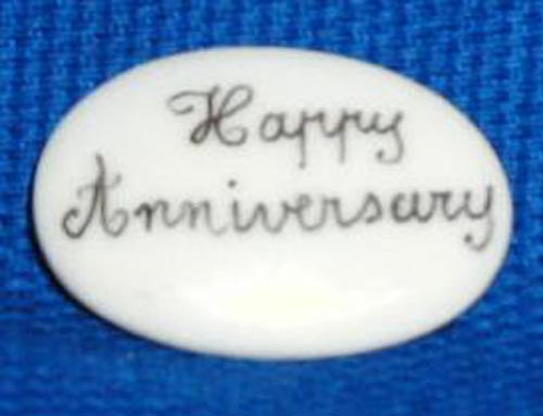 HAPPY ANNIVERSARY FILLER - PRICE CODE IS FOR TWO PIECES